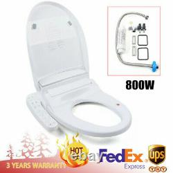 Advanced Smart Toilet Seat Bidet Warm Air Dryer Elongated Heat Clean Dry Movable