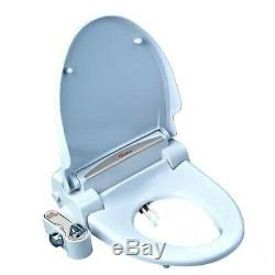 Aqua Gold Bidet Adjustable water pressure Toilet Seat Attachment -Stay Clean