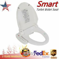 Bathroom Smart Toilet Bidet Water Spray Seat Attachment Set Electric Smart AC110