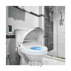 Bidet Mate Electric Toilet Seat Unlimited Heated Water Elongated Wireless Remote