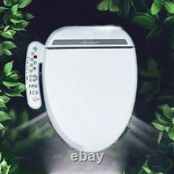 Bidet Toilet Seat Electric White with Heating Technology Automatic Body Sensor