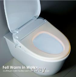Bidet Toilet Seat UFFU Smart Bidet Seat Easy Installation Adjustable Heat C200