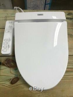 Bidet Toilet Seat Universal Washlet Elongated TOTO SW2014-01 Missing Parts Broke