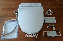 BioBidet BB-1000 Supreme Elongated Electric Bidet Toilet Seat White