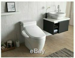 BioBidet Luxury Elongated Smart Bidet Toilet Seat withheater and dryer