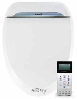 BioBidet USPA 6800 Adjustable Bidet Toilet Seat with Wireless Remote ELONGATED