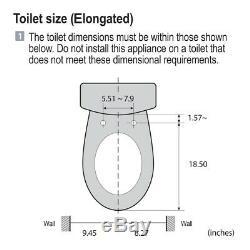 Bio Bidet Aura A7 Special Edition Elongated Smart Bidet Toilet Seat