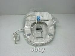 Bio Bidet BB2000 Round Bidet Smart White Toilet Seat with Wireless Remote Control