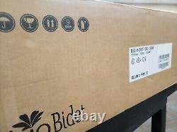 Bio Bidet BB-1000 Supreme Bidet Toilet Seat Wireless Remote Control Round White