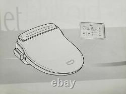 Bio Bidet BB-1000 Supreme Bidet Toilet Seat with Wireless Remote Round White