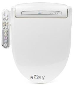 Bio Bidet BB-800 Prestige Bidet Toilet Seat w Side Control Panel Elongated White