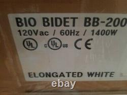Bio Bidet BLISS BB-2000 Elongated White with Remote Control NEW