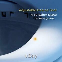 Bio Bidet BLISS BB-2000 Premier Elongated White Bidet Toilet Seat Remote Control