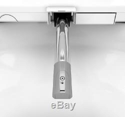 Bio Bidet BLISS Premier Class Elongated White Bidet Toilet Seat w Remote Control
