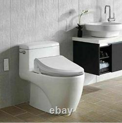 Bio Bidet USPA 6800U Adjustable Elongated Bidet Toilet Seat Wireless Remote