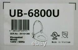 Bio Bidet USPA UB-6800U Adjustable Elongated Bidet Toilet Seat Wireless Remote