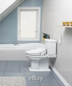 Brondell CL950 Advanced Electric Bidet Toilet Seat Round White + Remote Open Box