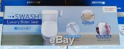 Brondell Luxury Bidet Toilet Seat Swash CL950 with Remote Enlongated White NEW