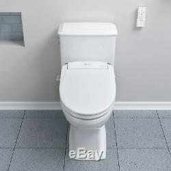 Brondell SE600 Advanced Electric Bidet Toilet Seat Round White + Remote Open Box