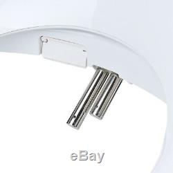 Brondell Swash 1000 Bidet Electric Advanced Toilet Seat Round White + Remote