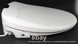 Brondell Swash 1400 Luxury Bidet Toilet Seat S1400-EW with Remote
