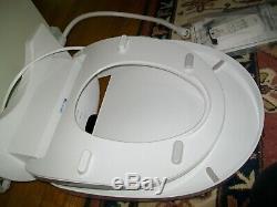 Brondell Swash S900 RW Luxury Bidet Toilet Seat, Fits Round Toilet