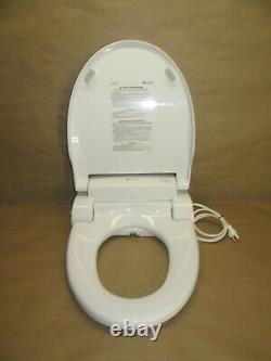 Brondell Swash SE600 Bidet Toilet Seat, Fits Elongated Toilets, White Bidet