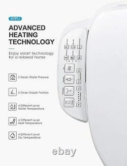 C200e Bidet Toilet Seat Electric Smart Automatic Elongated Heated Toilet Seat