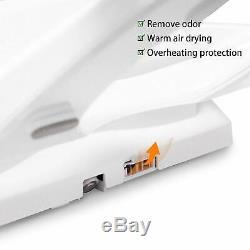 CB70 Advanced Smart Bidet Elongated Toilet Seat White with Night Light