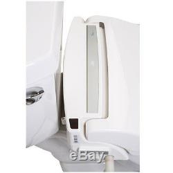 Clean Sense dib-1500R ROUND Bidet Toilet Seat with Wireless Remote in White