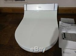 Duravit 610001 White Sensowash Starck C Elongated Slow-Close Bidet Seat