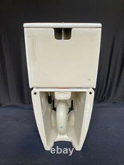 Duravit 611000001001300 SensoWash Slim Shower Toilet Seat, Bowl, Tank in White