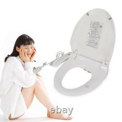 Electric Bathroom Smart Toilet Bidet Water Spray Seat Attachment Set with Nozzles
