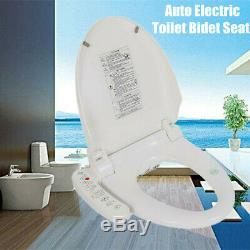 Electric Smart Bidet Toilet Seat Automatic Deodorization Elongated Heated New