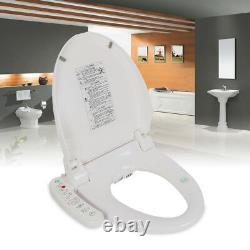 Electric Smart Bidet Toilet Seat Automatic Deodorization Elongated Heated USA