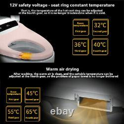 Elongated One Piece Remote Control Smart Toilet Advance Bidet &Soft Closing Seat