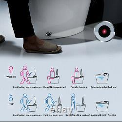 Elongated One Piece Smart Toilet With Advance Bidet Seat APP Control