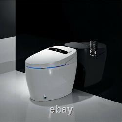 Elongated One Piece Smart Toilet With Advance Bidet & Soft Closing Seat