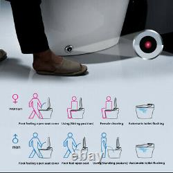 Elongated One Piece Smart Toilet with Advance Bidet And Soft Closing Seat