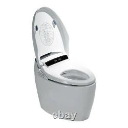 Elongated One Piece Smart Toilet with Advance Bidet And Soft Closing Seat US