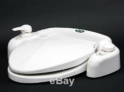 Eureka Eb-3500w Warm Hot Bathroom Bidet Toilet Seat Shattaf Front Women Sprayer