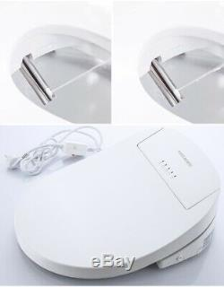 FOHEEL Intelligent Toilet Seat Electric Bidet Cover-heated-LED lights