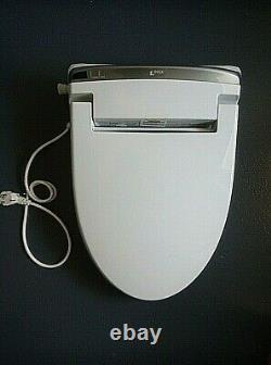 INAX Electronic Plastic Bidet Smart Toilet Seat (White)