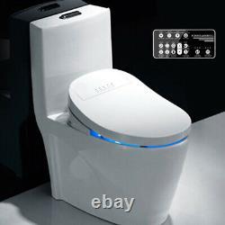 Intelligent Toilet Seat Electric Bidet Cover Smart Bidet Seat Clean Dry Massage