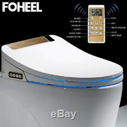 Intelligent Toilet Seat Elongated Electric Bidet Cover Smart Heating Bidet