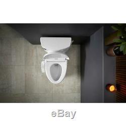 Kohler Bidet Seat Elongated Toilets Novita Electric Compact Sittable Lid White