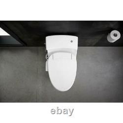 Kohler Electric Bidet Seat for Elongated Toilets C3 050 Quiet Close Lid White