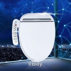 Luxury Electric Bidet Warm Toilet Seat for Elongated Toilets -Double nozzles HOT