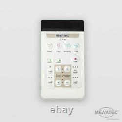 MEWATEC C700 LED Marken Dusch-WC Aufsatz Bidet Smarttoilette WC Dusche