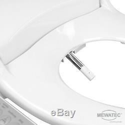 MEWATEC Marken Dusch-WC Aufsatz D500 Washlet Bidet Intimdusche Analdusche Dusch